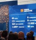 Gianfranco Carbonato, presidente e fondatore di Prima Industrie, durante la sua presentazione.